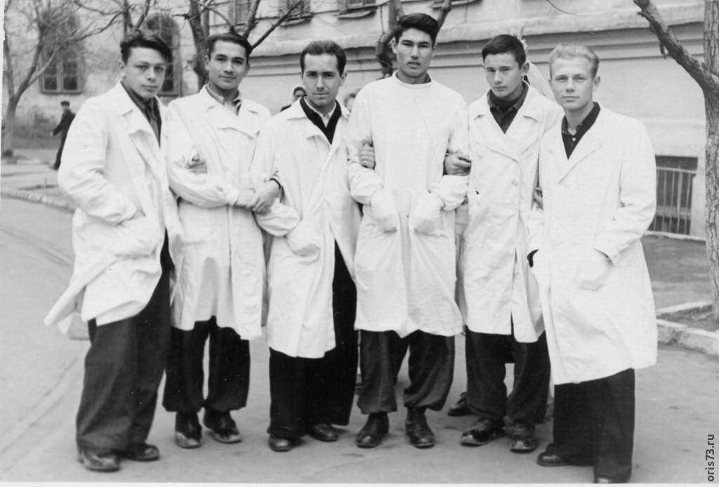 1 курс КГМИ  1955г.
