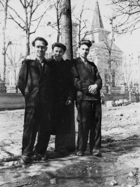 Казань, ул.М.Горького  1 мая 1956 г.