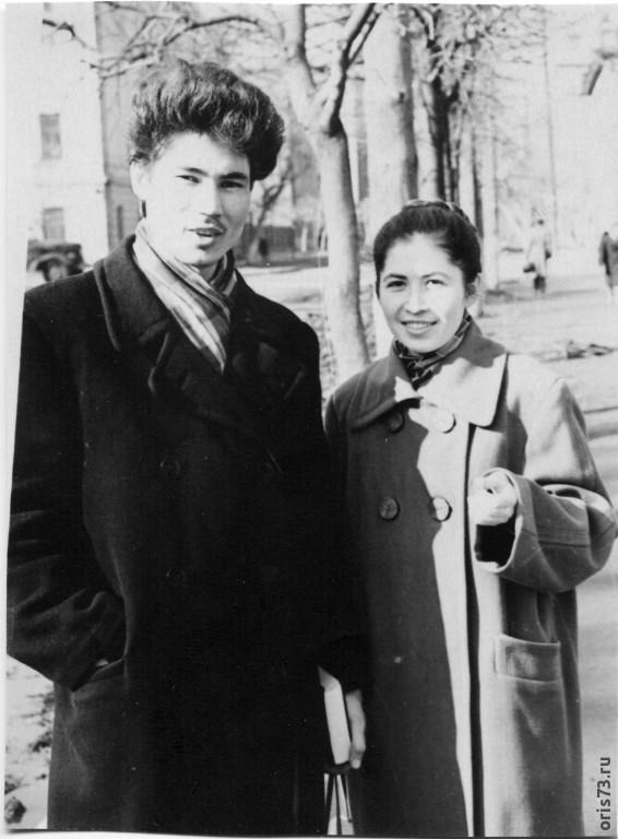 г. Казань 1960г, ул.Л.Толстого