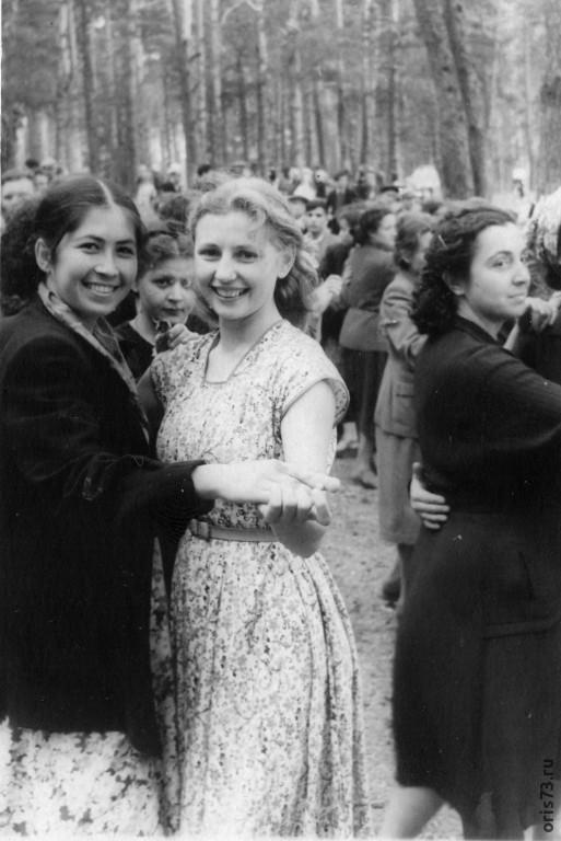 Казань, озеро Лебяжье  1 мая 1958 г.